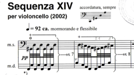 berio sinfonia partitur vorwort