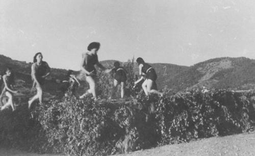 Le Chalutier, île de Poros 1951. Archives de Polyxeni Mathéy.